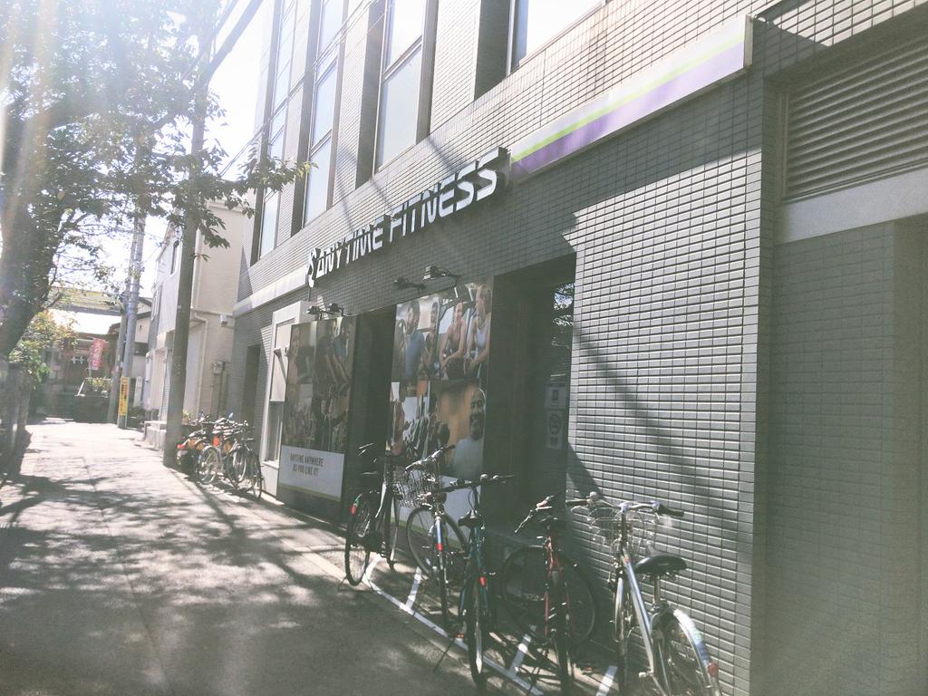 ANYTIMEFITNESSエニタイムフィットネス神楽坂店