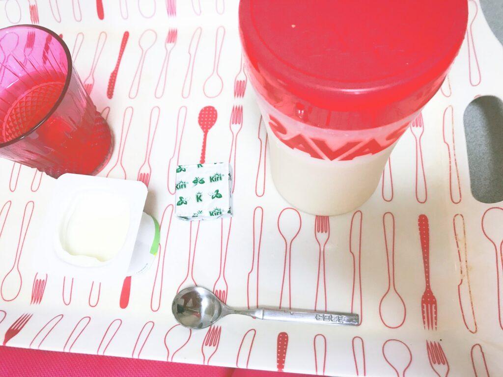 低糖質減量期ライザップウーマン生活中食事記録